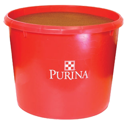 purina mineral tub no white