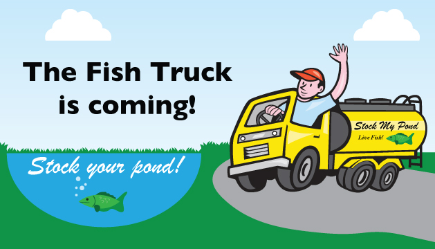 Stock My Pond Fish Truck Delivery On December 3rd J N Feed And Seed