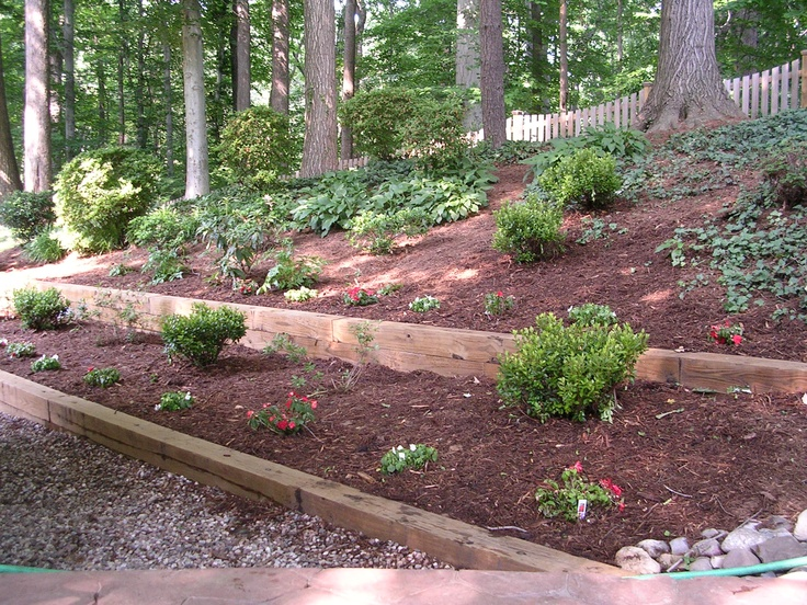 Solid Plastic Landscape Timbers : Yellawood landscape timbers j n feed and seed