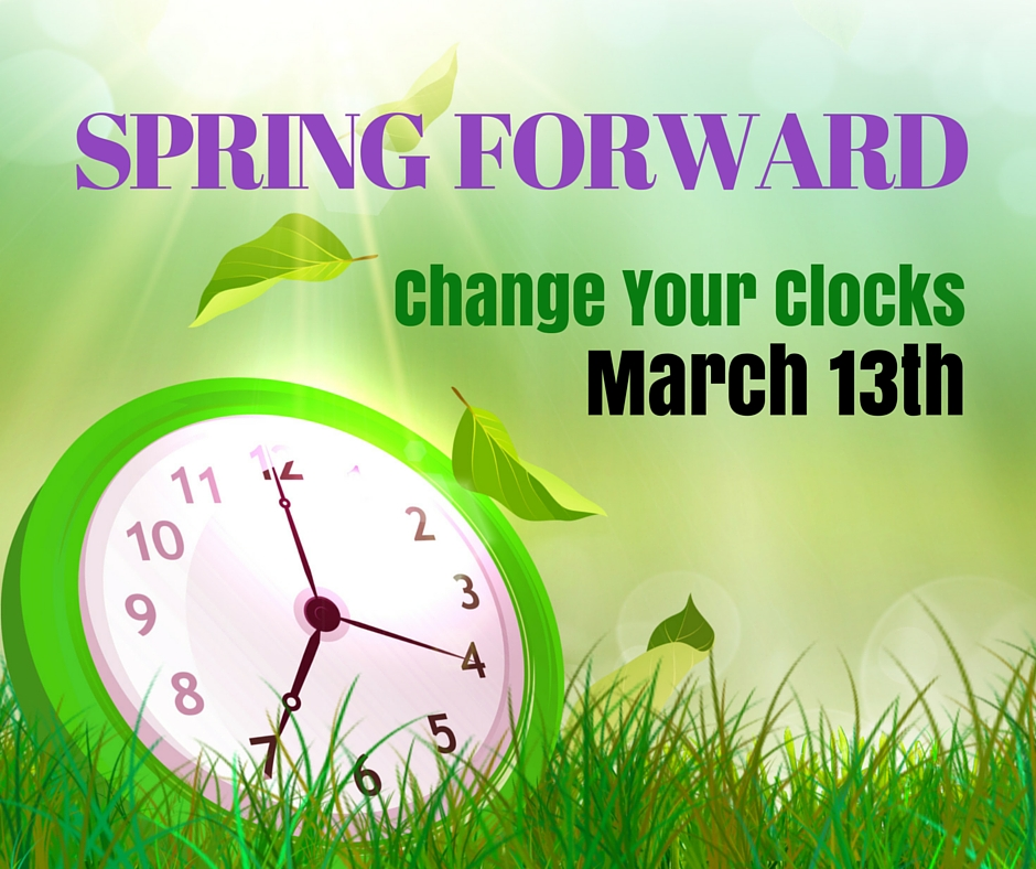Say What Annoyed You Today SPRING-FORWARD_2016