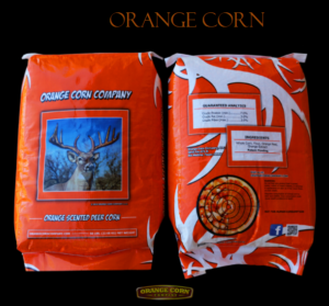 orange deer corn
