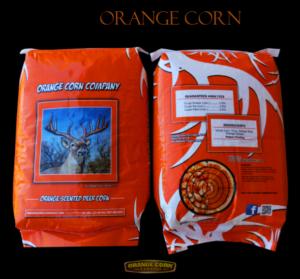 orange deer corn