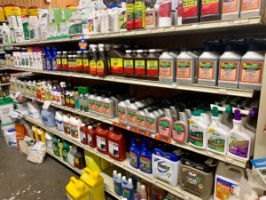 Weed and Brush Control products at J&N Feed and Seed in Graham, Texas