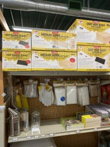 Bee Keeping Supplies from Little Giant at J&N Feed and Seed.